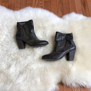 Report Shoes - Report brown leather boots